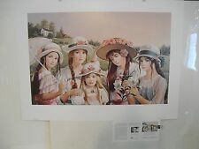 """PATI BANNISTER """"Celebration"""" Print Signed and Numbered"""