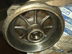 Classic Fiat 500 front brake hub drum original new old stock spare rare part.
