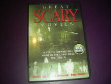 "Great Scary Movies ""Night Of The Living Dead/Terror /House On Haunted Hill"" DVD"