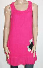 Teaberry Designer Pink Cotton Sleeveless Tunic Dress Size M BNWT #ST63