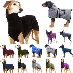 Pet Dog Clothes Greyhound Whippet Lurcher Jumper High Collar Sweater Pyjama New