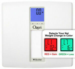 Ozeri ZB20 Weighmaster II 440 lbs Digital Bath Scale w BMI & multi-pers. Memory
