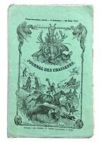 Chasse aux Phoques dans la Somme 1858 Cayeux St Valéry Eymoutiers Carte Somme