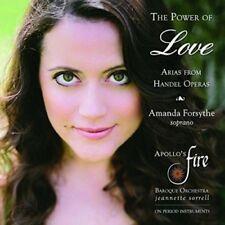 THE POWER OF LOVE-ARIAS FROM HANDEL OPERAS  CD NEU HÄNDEL,GEORG FRIEDRICH