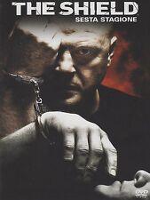 COFANETTO DVD - THE SHIELD STAGIONE SERIE 6 SERIE TV (4 DVD) - Nuovo!!