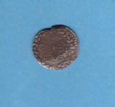 (ROY.119) MONNAIE CORSE 4 SOLDI PASCAL PAOLI 1763 (TTB-)
