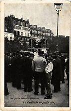 CPA PARIS Les petits métiers parisiens - Le Dentiste en plein air (215583)