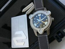 DelTat NBS MKI TCS TITANIUM Automatic Box and papers