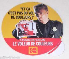 Autocollant KODAK : Le VOLEUR de COULEUR pour le Film Kodacolor Gold 200