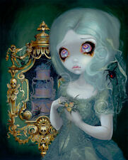 FAIRY ART PRINT - Miss Havisham by Jasmine Becket-Griffith 14x11 Gothic Poster
