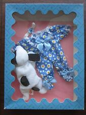 MADAME ALEXANDER Doll TY BEANIE BABY Huggums Play Date with Spot #39853 RARE NIB
