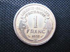 1 Franc Morlon bronze-alu 1932    TTB