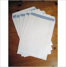 A4 WHITE PLAIN SELF- SEAL ENVELOPES 90gsm Qty : 25 - A4- BARGAIN LOW PRICED ITEM
