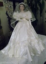 "Gone With the Wind ~ ""SCARLETT O'HARA BRIDE"" Doll ~ By The Franklin Mint ~1993"