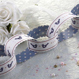East of India Paper Chain Kit Birthday Party Anniversary BLUE BIRDS 3m