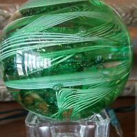 Vintage Glass Eye Studio Art Glass Paperweight - Beautiful