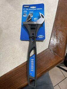 "HART 12"" Pro Adjustable Wrench High Grade Steel HHPWPA801 NEW"