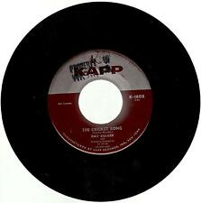 """Ray Bolger, Once In Love With Amy b/w The Cricket Song; 7"""" 45"""