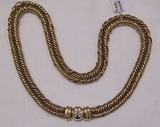 COLLANA ORO DIAMANTI POMELLATO GOLD NECKLACE DIAMONDS KETTE OR COLLIER