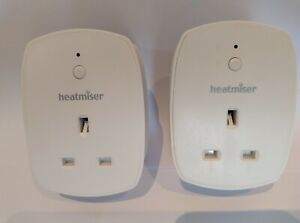 Heatmiser neoPlug App controlled Smart Plug - 2 plugs / switches - fully working