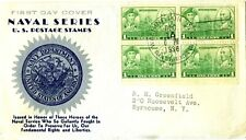 U.S. FIRST DAY COVERS 1936 ARMY NAVY SCOTT 790 WASHINGTON, DC VALUE $30