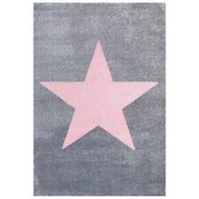 SchwabenKids® Happy Rugs Teppich Kinderteppich Spielteppich 120x180 Sterne grau