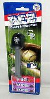 MLB COLORADO ROCKIES Pez Dispenser BASEBALL CAP   [Carded]