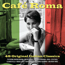 Cafe Roma VARIOUS ARTISTS 48 Italian Classics BEST MUSIC Collection NEW 2 CD