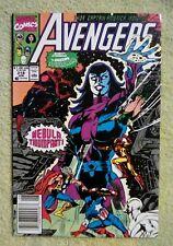 Avengers #318 (Jun 1990, Marvel) 7.0 FN/VF ( Spider-Man, Nebula)