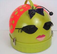 Vtg Beauty Bug Hair Dryer Hard Hood Groovy Decor Hippie  Portable 60s Model 50