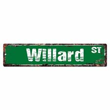 SMNS0280 WILLARD Street Chic Sign Home Man Cave Wall Decor Birthday Gift
