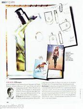 PUBLICITE ADVERTISING 116  2010   Hermès   parfum Voyage   & Jean Claude Ellena