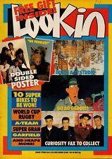 Look-In Magazine 30 May 1987   Migi Drummond   Jonathan Davies   Five Star   Alf