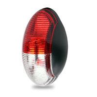 Umrissleuchte Begrenzungsleuchte LED rot/weiß 60x34mm, 12v - 30v, ECE E9-geprüft