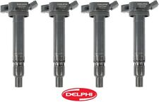 4 Ignition Coil on Plug Delphi REPLACE OEM # 9091902250 for Lexus Scion Toyota