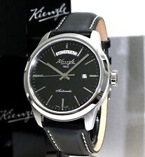 KIENZLE Automatik ETA Herrenuhr Leder Armband  5 BarW.R.