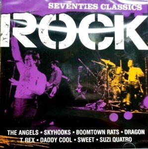 Rock - Seventies Classics, 2 CD Set, Time Life  - CD, New