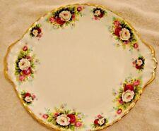 Royal Albert Celebration  Round Handled Cake Plate