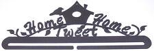 "Classic Motifs 12"" Split Bottom Craft Holder Home Tweet Home Charcoal M403.16"