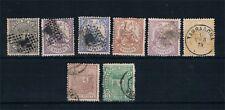 España. 1 Republica. Conjunto 8 sellos de la 1ª República. Valor 62 Euros
