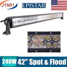 "42inch 240W LED Work Light Bar Spot Flood Off road Fog Lamp ATV Car Truck 40/44"""
