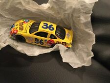 "1997 ERNIE IRVAN #36 m&m's 3"" RACING NASCAR STOCK CAR w/ display case"
