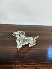 Swarovski Crystal Figurine Dog Mint
