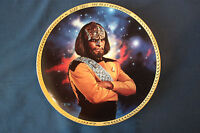 Star Trek The Next Gen Lt. Worf Hamilton Collection Collectors Plate #2163C