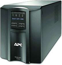Apc Smart-Ups Sinewave Battery Backup 1000Va Lcd 120V with SmartConnect Smt1000C
