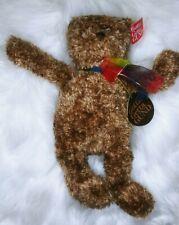 "Gund Bearessence Brown Shaggy 14"" Teddy Bear Gotta Getta Gund Stuffed Plush"
