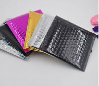 5pcs Aluminum Poly Bubble Mailers Padded Envelopes Shipping Bags Self Seal Lot