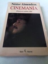 "NESTOR ALMENDROS ""CINEMANIA ENSAYOS SOBRE CINE"" LIBRO EDITORIAL SEIX BARRAL"
