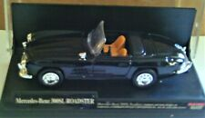 New Ray 1957 Mercedes Benz 300SL Black Roadster #48409 New in a Plastic Case