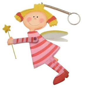 Guardian Angel Nursery Mobile On Spring Yellow Hair And Wand